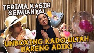 Unboxing Kado Ulang Tahun Bareng Adik Makasih Semua Lyodra Vlog MP3