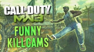 MW3 Funny Killcams - CrossMap Knife, Crazy Spins, Care Packages (COD Killcams)