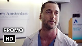 "New Amsterdam (NBC) ""One Doctor's Fight"" Promo HD - Ryan Eggold medical drama series"