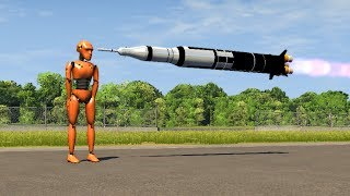 Beamng drive - Planned Rocket Hits