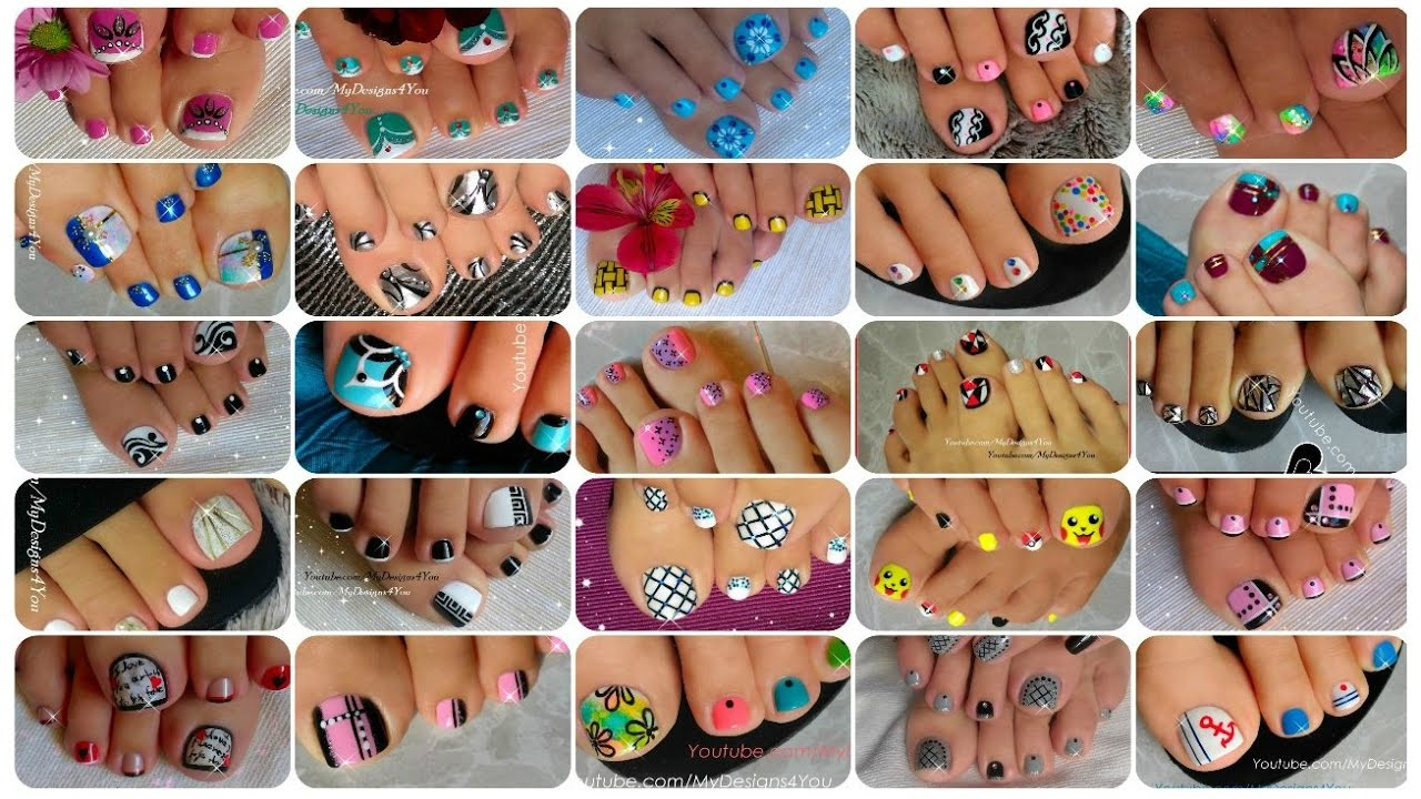 25 toenail art designs compilation youtube 25 toenail art designs compilation prinsesfo Choice Image