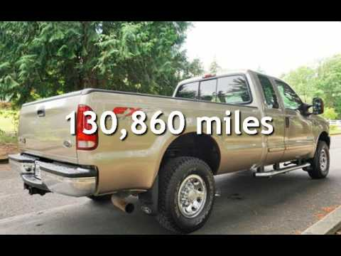 2003 Ford F-250 XLT Super Cab 4X4 Long Bed 1 Owner for sale in Milwaukie, OR