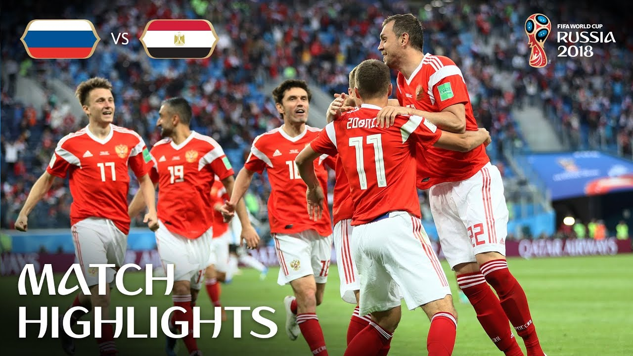 6ff0dded6 Russia v Egypt - 2018 FIFA World Cup Russia™ - Match 17 - YouTube