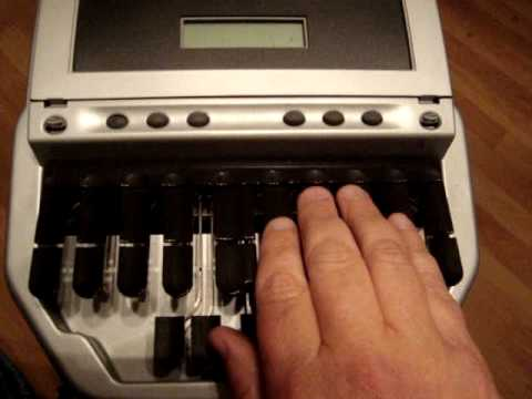 Stenograph Machine