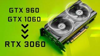 NVIDIA RTX 3060 Review vs GTX 1060 & GTX 960 - FINALLY Time to Upgrade?