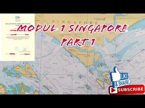 Modul 1 Singapore..!!! ( Part 1 ) Contoh Laporan Area Singapore Port Limit