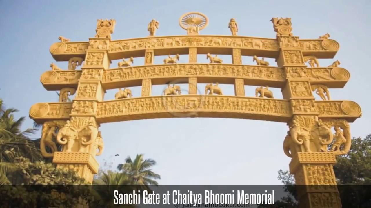 Chaitya Bhoomi, Dadar – Ambedkar Memorial