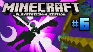 """Minecraft PS4 gameplay Part 6 - """"ENDER DRAGON!"""" - (Playstation 4 Minecraft / Xbox One Minecraft)"""