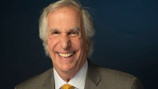 'Barry's' Henry Winkler is in his happy place