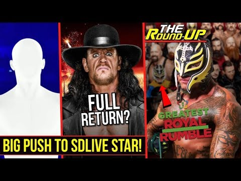 BIG PUSH FOR SMACKDOWN SUPERSTAR!, Rey Mysterio WWE RETURN CONFIRMED!, 2K19 & More! - The Round Up