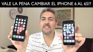 Vale la pena el cambio del iphone 6 al iphone 6s?