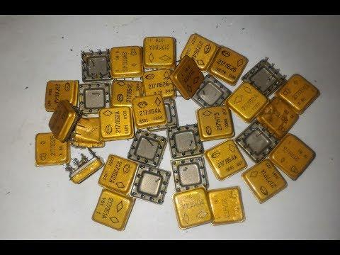 Золото с микросхем 217ой серии (субтитры) / Gold From Microcircuit Of The 217th Series (subtitles)
