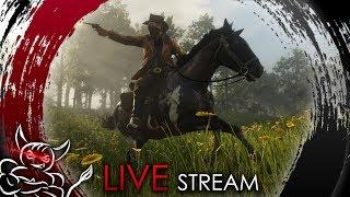 Red Dead Redemption 2  Online - Банда Ван Дер Беса [Стрим]