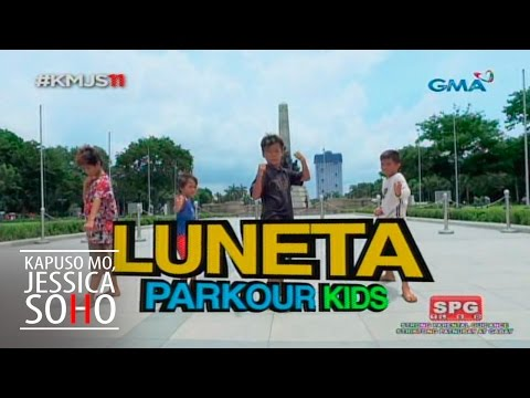 Kapuso Mo, Jessica Soho: Luneta Parkour Kids