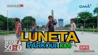 Kapuso Mo, Jessica Soho: Luneta Parkour Kids