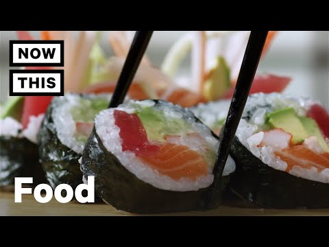 How To Eat Sushi Correctly   Cuisine Code   NowThis