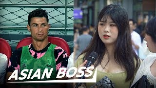 Why Are Koreans Angry At Ronaldo? [Street Interview] | ASIAN BOSS