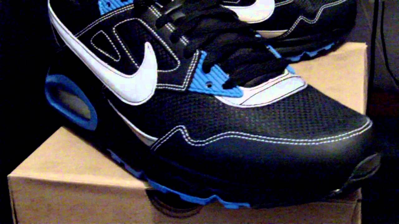 best website 95a14 40541 Nike Air Max Skyline Black White Silver Blue 343886-023 (PL)