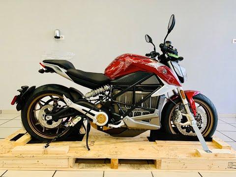 Unboxing Y Entrega De Mi Zero Motorcycles Sr/F 2020 - 4k