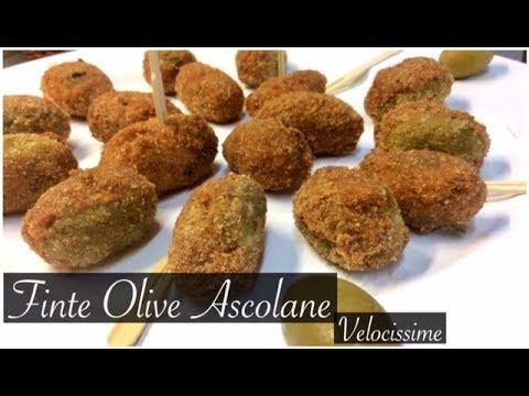 Ricetta Olive Ascolane Youtube.Finte Olive Ascolane Ricetta Velocissima E Facile Tutti A Tavola Youtube