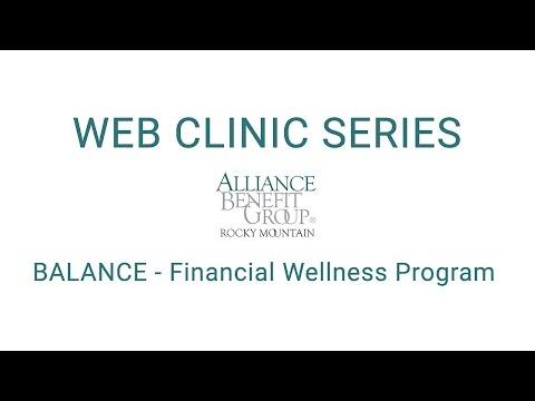 Web Clinic Series - BALANCE Financial Wellness Program