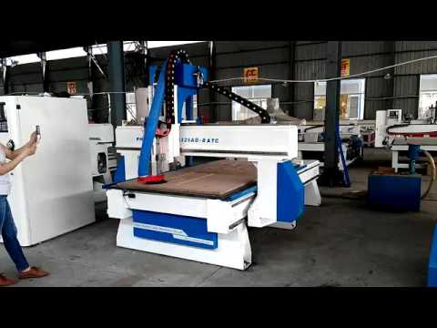 China hot sale cnc wood router machine,making cabinet door and ...