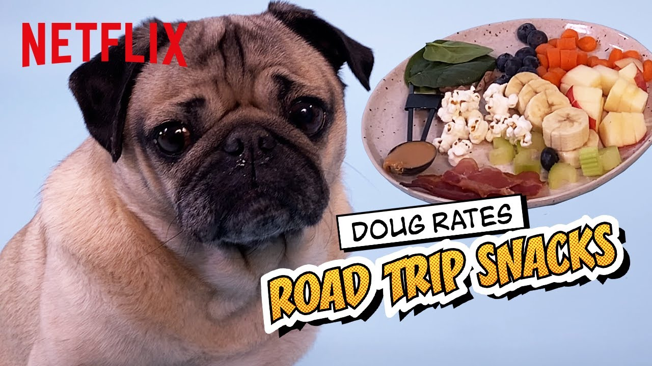 Doug the Pug Rates Road Trip Snacks 😋🥓 The Mitchells vs. The Machines | Netflix Futures