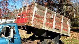 1969 International 1300 1-ton dump truck part II