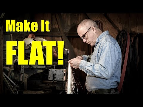 Make It Flat!  Knife Making Tips