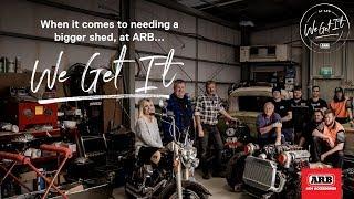 At ARB, We Get It | Needing a bigger shed