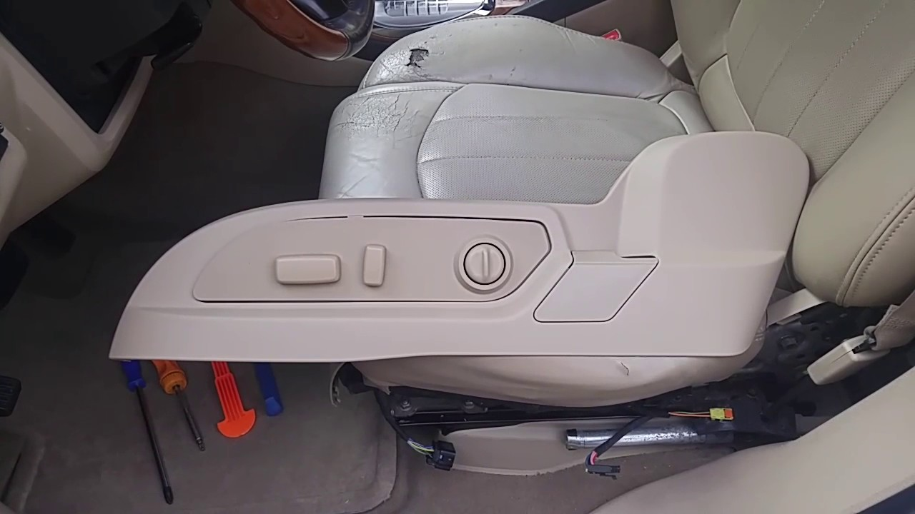 enclave acadia lower seat trim removal and replacement 2010 gmc acadia parts diagram 2008 gmc acadia [ 1280 x 720 Pixel ]