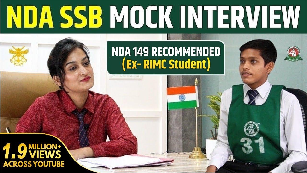 Download NDA SSB Mock Interview   NDA-1 2021 Exam SSB Interview Preparation   Best SSB Coaching in India