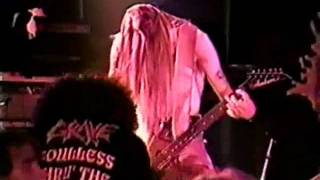Grave 1994 - Morbid Way To Die Live at Hallandale on 03-11-1994 Deathtube999