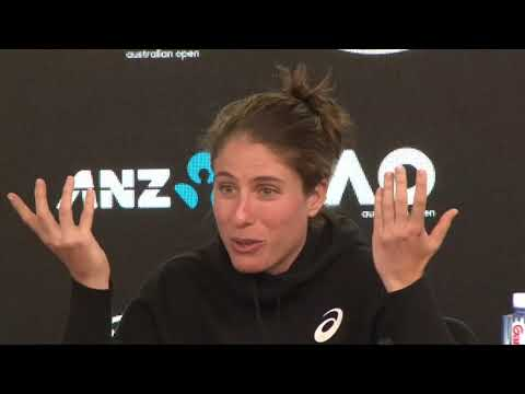 Johanna Konta Post Match Reaction v Madison Brengle ( 6-3, 6-1 ) Australian Open
