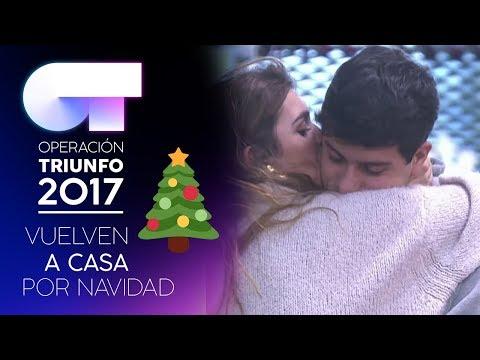 Les comunican que pasarán la Nochebuena en casa | LOS MEJORES MOMENTOS | OT 2017