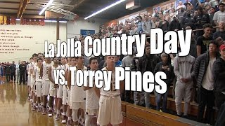 La Jolla Country Day vs. Torrey Pines, UA Holiday Classic Tip-Off Game, 12/26/16