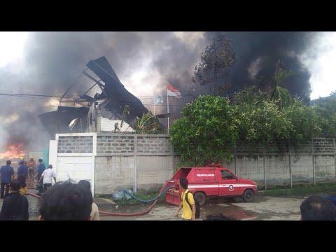 Angin Puting Beliung Terjang Sapan Bandung