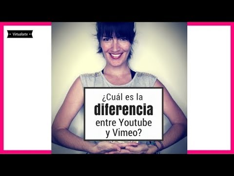 ¿Cuál es la diferencia entre Vimeo y YouTube?