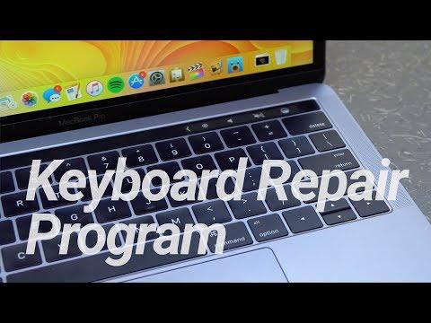 New MacBook Keyboard Repair Program!