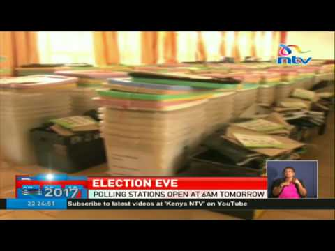 IEBC is ready to conduct polls in Uasin Gishu tomorrow