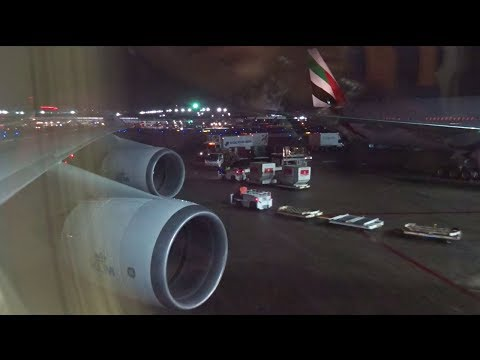 KLM 747-400 - Cold Evening Takeoff from Chicago O'hare w/ Mechanical Problem