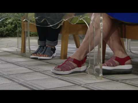 Clarks Cloud Steppers Sport Sandals - Arla Shaylie On QVC