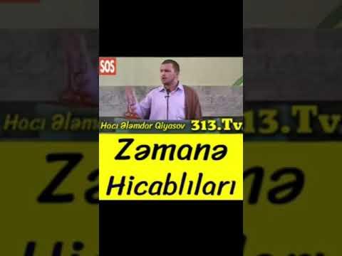 Zəmanə hicablilari - Hacı Ələmdar