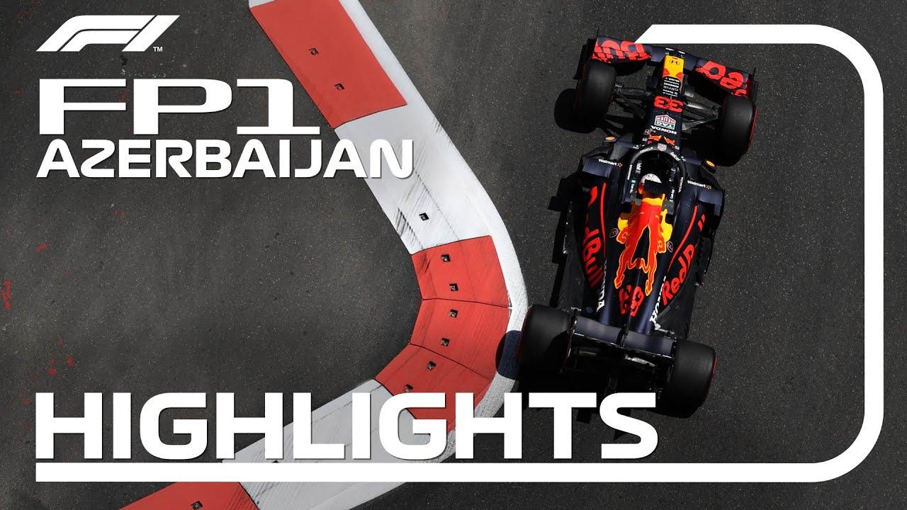 Download FP1 Highlights   2021 Azerbaijan Grand Prix