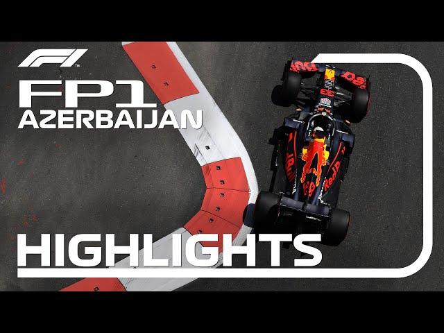 FP1 Highlights   2021 Azerbaijan Grand Prix