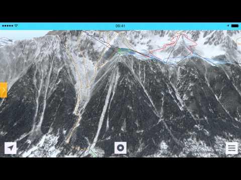 FATMAP - Chamonix 3D Ski Map