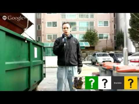 "GEOshow: Moblile Hangout Demo ""waste management"""