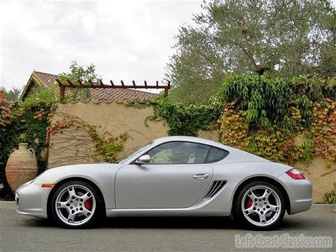 2006 porsche cayman s for sale in arctic silver youtube. Black Bedroom Furniture Sets. Home Design Ideas