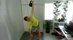 Kahvakuula 45min - Markuksen koko kropan treeni // Kettlebell 45min - Markus' full body workout