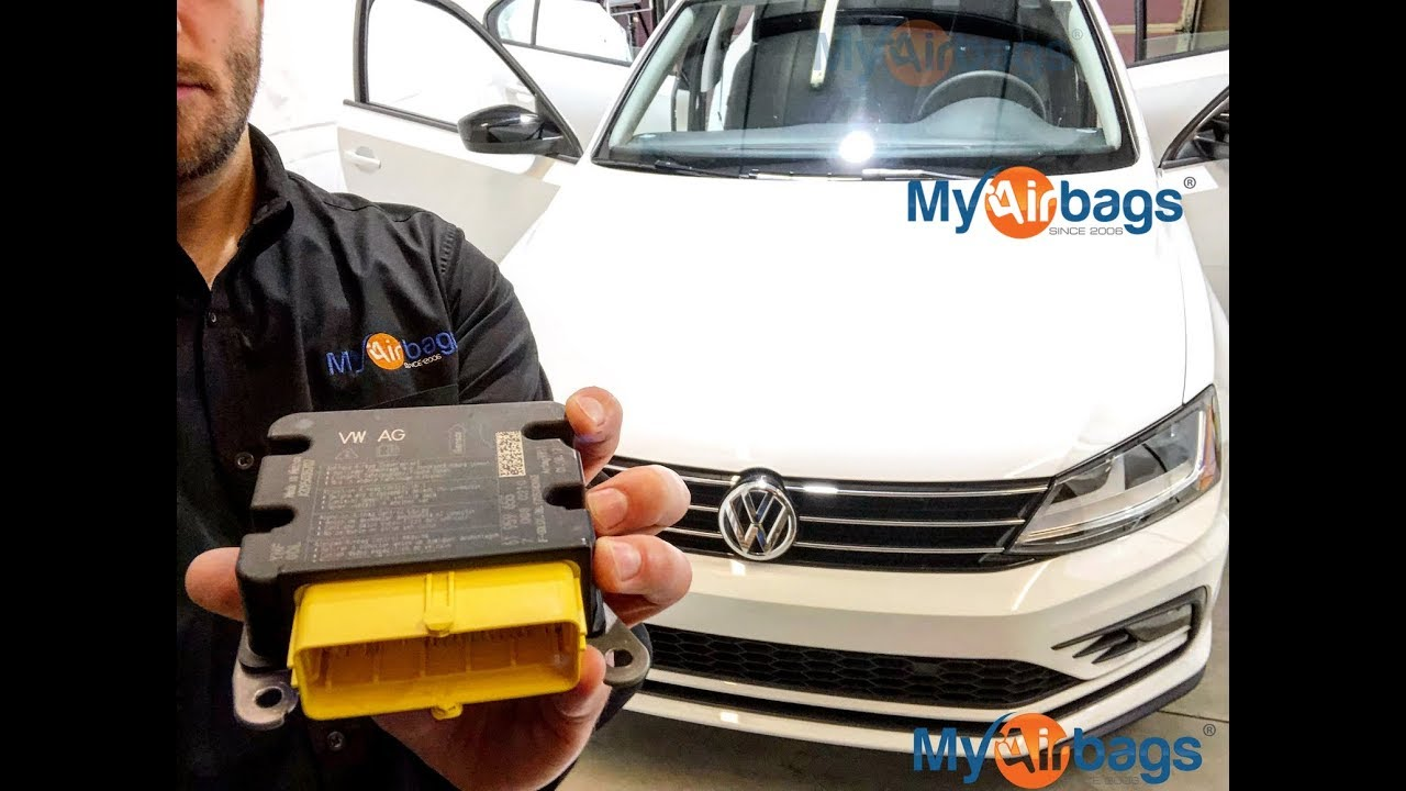 VW JETTA - AIRBAG SRS MODULE LOCATION & Reset - MyAirbags com